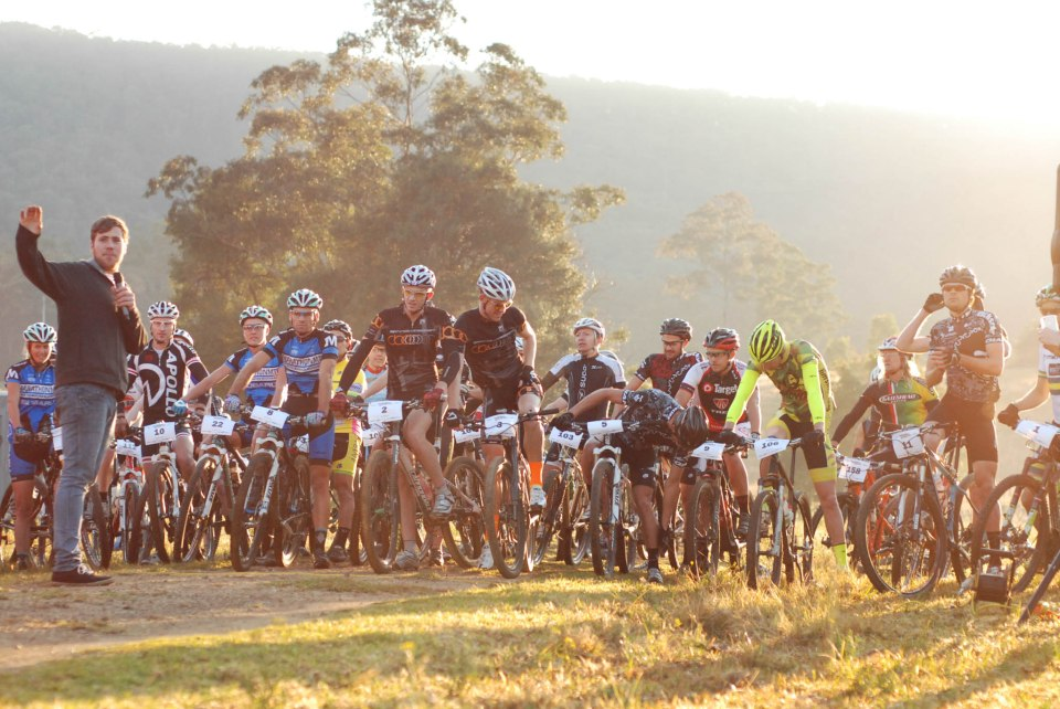 The 80km race attracted riders keen to fast track their fitness for summer.