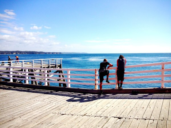 Tathra's historic steamer wharf is now home to a museum and cafe.