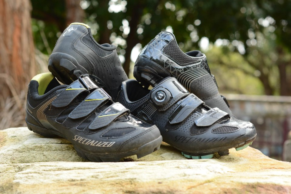 Specialized Women's Riata and Cascade Shoes: Smart research makes for excellent performance and fit.