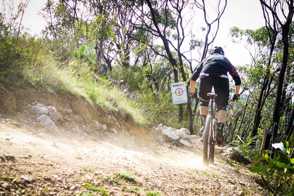 The tips and tricks you learn for one event will skill you up for many more too. Matt Ackland hooks into the Fox Creek Trails in Adelaide. Photo: Kath Bicknell.