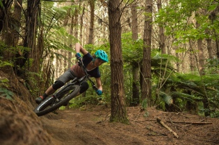 It was a huge thrill to ride with NZ Olympian Rosara Joseph who was reporting for Spoke Magazine (Paris Gore)