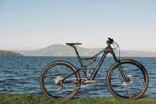 The Specialized Rhyme FSR Carbon Expert 650B (Paris Gore)
