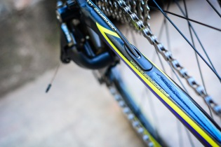 The SAVE Plus micro suspension gives the alloy frame a ride feel closer to carbon.