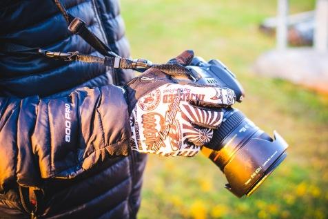 Winter photography, mountain biker style